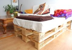 10 ideias de sofás de paletes de madeira reciclados