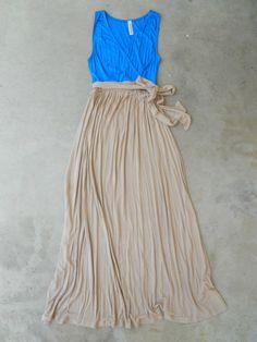 Indigo Beach House Maxi Dress