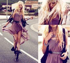 Lavender spirit (by Lina Tesch) http://lookbook.nu/look/2685725-lavender-spirit