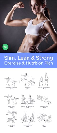 Visit https://WorkoutLabs.com/workout-programs/slim-lean-strong-workout-program-men-women/ for our simple workout program to help you shed extra pounds and tone your whole body in just weeks with illustrated 20-minute HIIT gym workouts, training advice and a simple nutrition guide you will enjoy following.