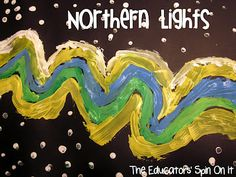 Exploring the Northern Lights with Kids through Art and Music.  Come join us in the Artic Circle as we learn about Science in Sweden along with recipes and crafts! sweden, christmas music, arctic art projects, explor northern, northern lights, artic crafts, kids, educ spin, light art