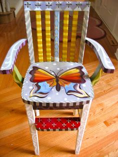 Lisa Frost Butterfly chair