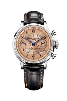 The Baume & Mercier Capeland is a classic chronograph
