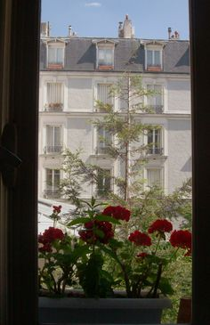 View from the window Neuilly s/seine France