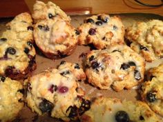 Drop Blueberry Scones - - Ingredients 2 cups all-purpose flour, plus ...
