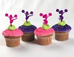 Cheerleader Cupcakes