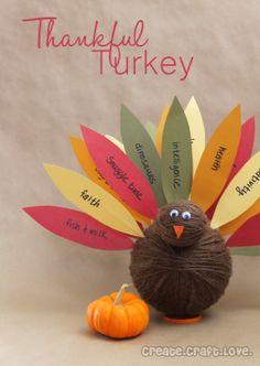Create.Craft.Love.: Thankful Turkey