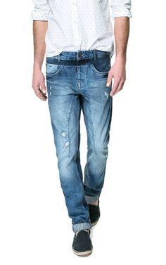 FADED JEANS - Jeans - Man   ZARA Netherlands