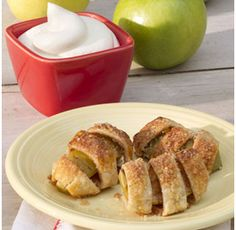 Bite size apple pies