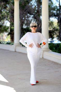 Stylish dressing for older women