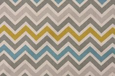 Premier Prints Zoom Zoom Cotton Drapery Fabric in Summerland/Natural $7.48 per yard