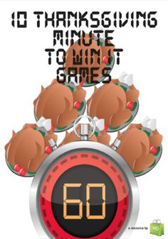 10 Thanksgiving Minute to Win It Games