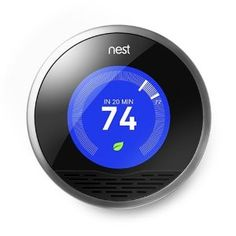 Nest Learning Thermostat  - Neat idea, programs itself and turns itself down when you're away