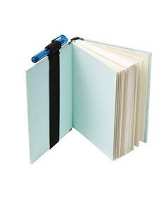 make a bookmark/pen holder