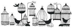 Birdcages - SVG Freebie