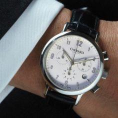 C3 Malvern Chronograph MK II - reviewed by Ineffable Fashion - Very elegant.