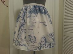 Eragon inspired skirt - Map of Alagaesia -