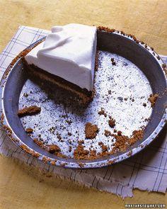 Black-Bottom Pie - Martha Stewart Recipes