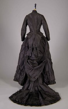 Day dress ca. 1875 From the Metropolitan Museum of Art