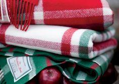 Johnstons of Elgin cashmere Christmas rug