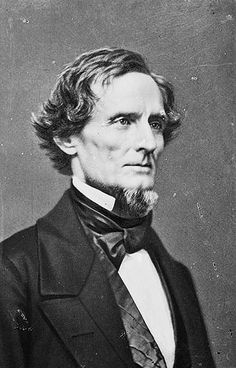 Jefferson Davis, President of the Confederacy.  Davis faced a difficult task in organizing a Confederate war effort.  The Confederate states had seceded on grounds of maintaining states' rights.  But to fight the Union, Davis had to exercise fundamentally federal powers to unite Southern states, tactics which displeased his fellow Confederates.