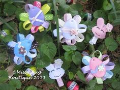 Hair Clips ~ Missy Bug Boutique