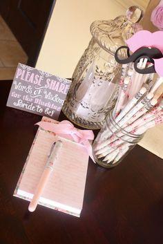 "Photo 1 of 23: Blushing Bride / Bridal/Wedding Shower ""Claribel's Bridal Shower"" | Catch My Party"