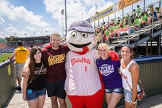 Looking to get off campus with friends? Catch a #baseball game and support the local minor-league baseball team, the Reading Fightin Phils! Who knows, you may just get your picture taken with Screwball! First Energy Stadium (home to the Fightins) is just a short drive from #Alvernia.