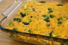 Cheesy Broccoli Quinoa Casserole