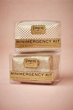 Minimergency Kit for Brides & Bridesmaids in Gifts