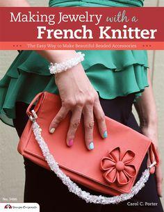 knit jewelri, bead accessori, accessori design, wonder knitter, craft supplies, jewelri project, jewelri design, french spool, french knitter