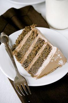 {Salted Caramel Chocolate Cake}