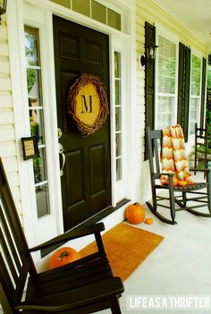 Life as a Thrifter: Fall Porch
