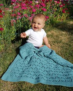 Moving Mountains Baby Blanket