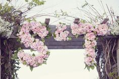 Rustic Country Wedding Arch