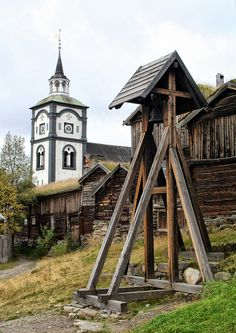 CHURCH -Røros, Norway.