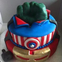 Avengers Cake ~ made by lovemycake.ca