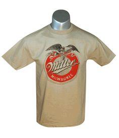 Beer t shirts on pinterest 37 pins for Vintage miller lite shirt