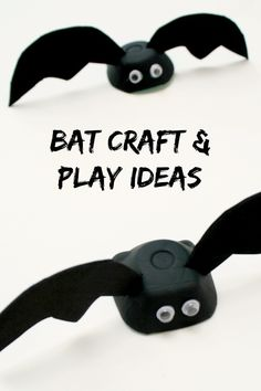 Easy Bat Craft and Play Ideas