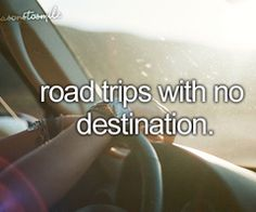 road trip anyone?