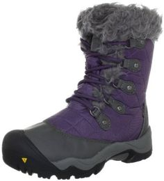 A grownup pair of snowboots? Yes please. Amazon.com: KEEN Women's Sunriver High Boot: Shoes