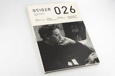 Mads Thorsoe: Geiger Magazine — Redesign #Graphic #Design #Publications #Typography http://deface365.blogspot.gr/2013/11/mads-thorsoe.html#.UoOlQlTtl-M