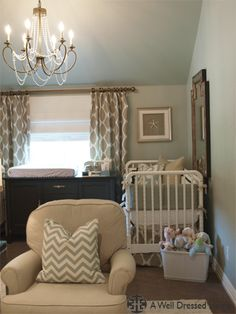 Gender neutral nursery- neat layout