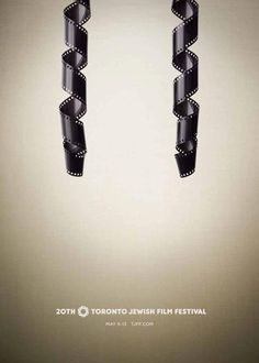 20th Toronto Jewish Film Festival #ad #print #poster repinned by www.BlickeDeeler