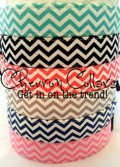 Dog Collar https://www.etsy.com/listing/123544068/chevron-dog-collars