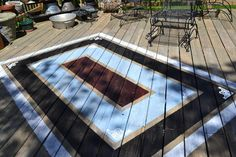 Painted Deck Rug  I have done this before.  I put marine varnish after completely dried.  Lasted for years.