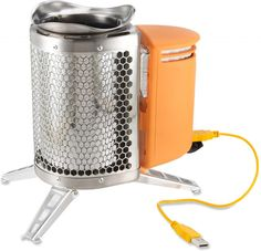 7 really awesome tech devices for camping and hiking (this BioLite Wood Burning CampStove is fantastic)