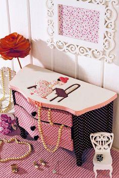 Minigavetereiro com Carton Mousse
