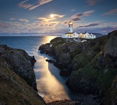 Fanad lighthouse, County Donegal, Ireland