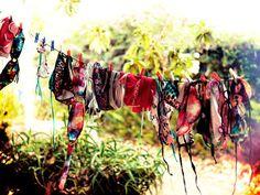 Bikini line.